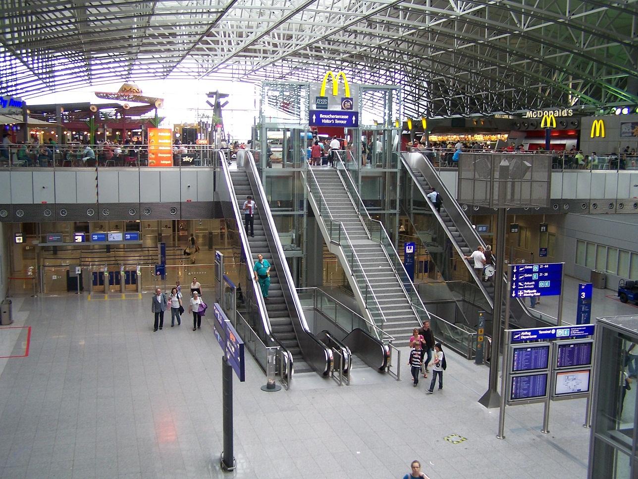 Ankunft Frankfurt Terminal 2