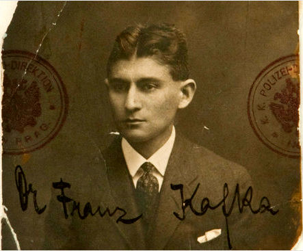 Franz Kafka from National Library Israel