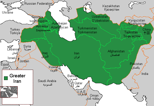 Greater Iran - Wikipedia