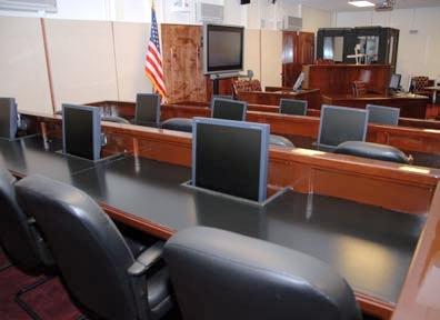 Guantanamo courtroom