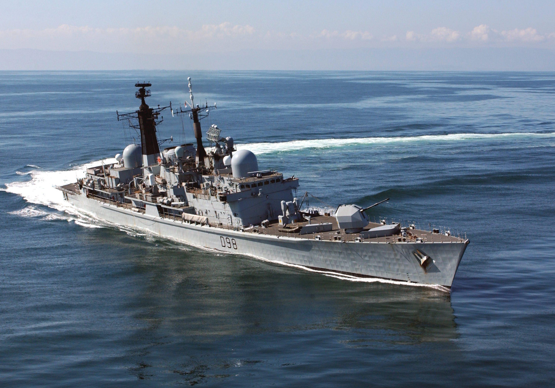 Type 45 Destroyer HMS Diamond test fires  - The Telegraph