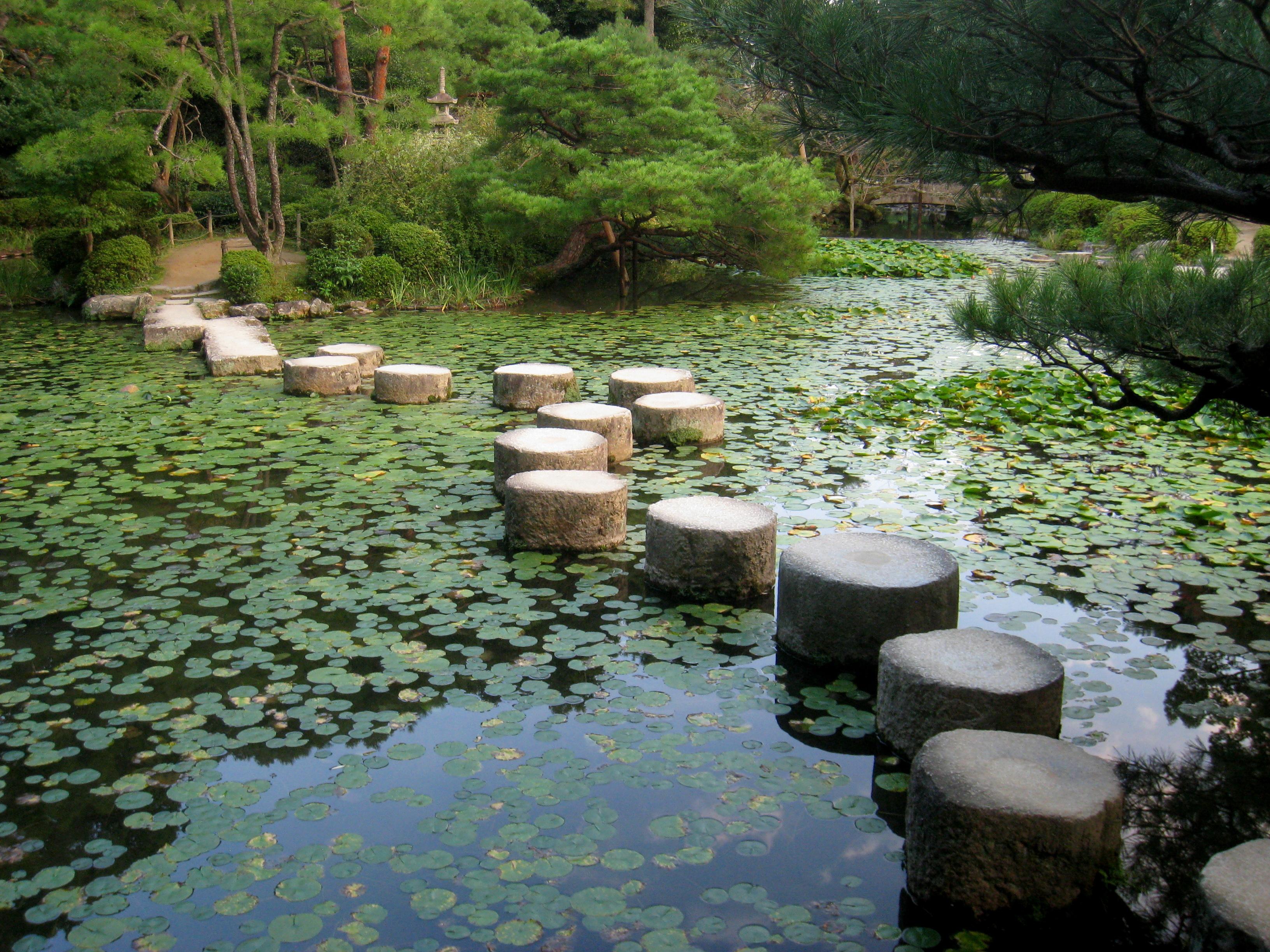 File heian jingu shinen img 5748 0 25 jpg wikimedia commons - Bassin zen jardin ...
