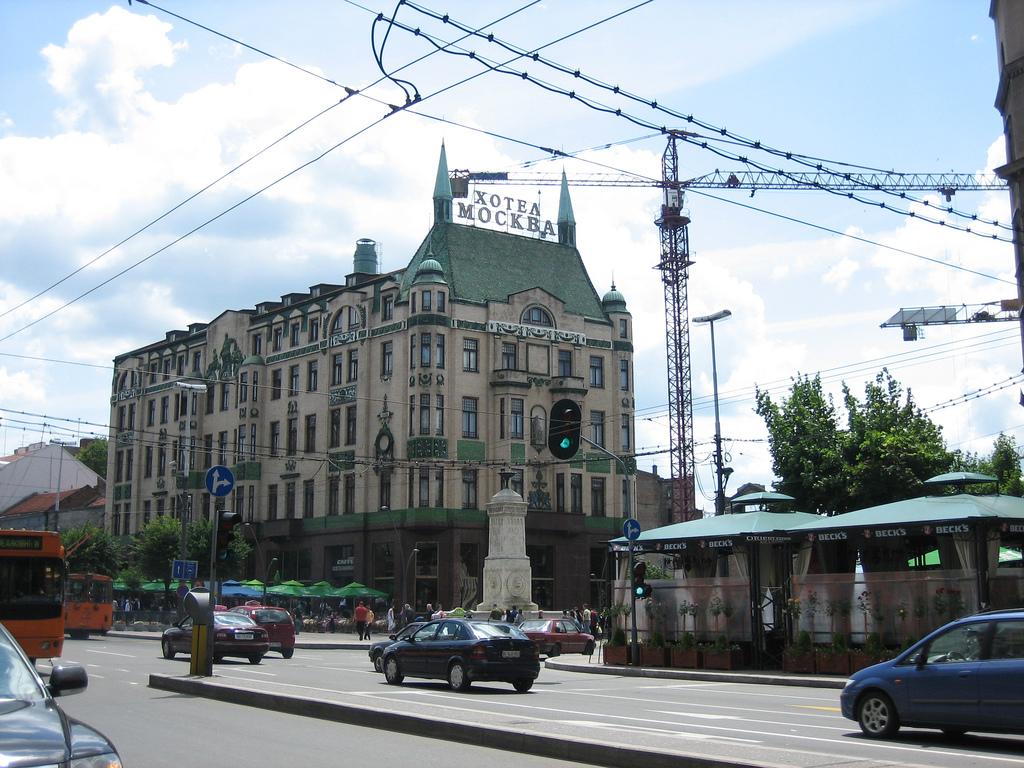 Terazije wikipedia for Hotel belgrado