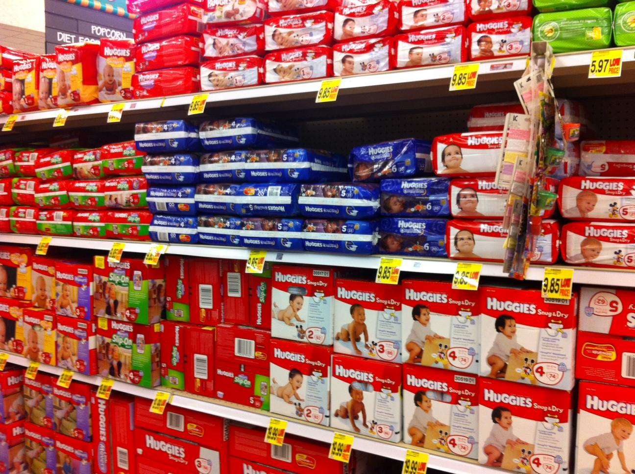 Huggies diapers size chart india