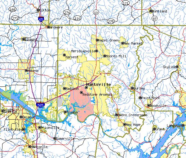 FileHuntsville Alabama area map detailpng Wikimedia Commons – Map Detail