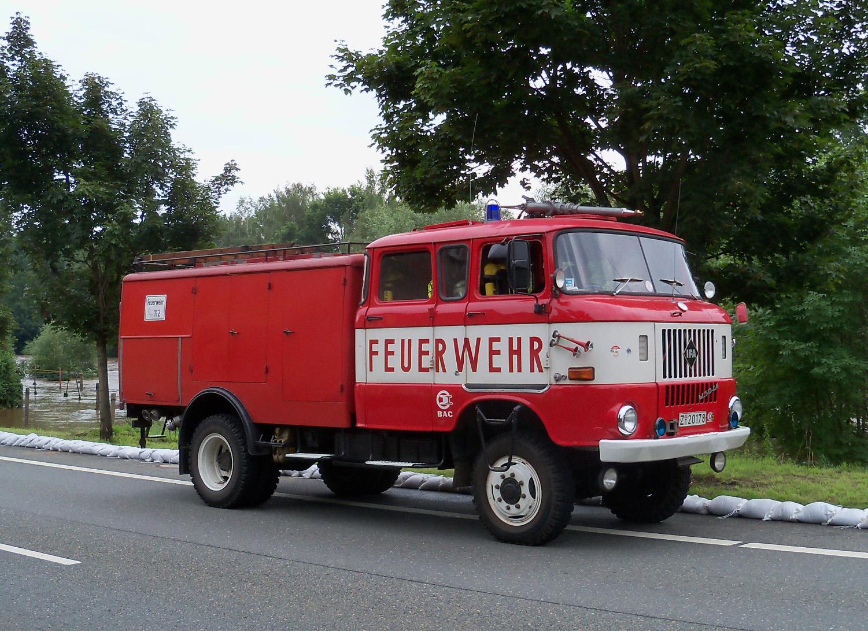 Tanklöschfahrzeug TLF 16, Typ IFA-W50
