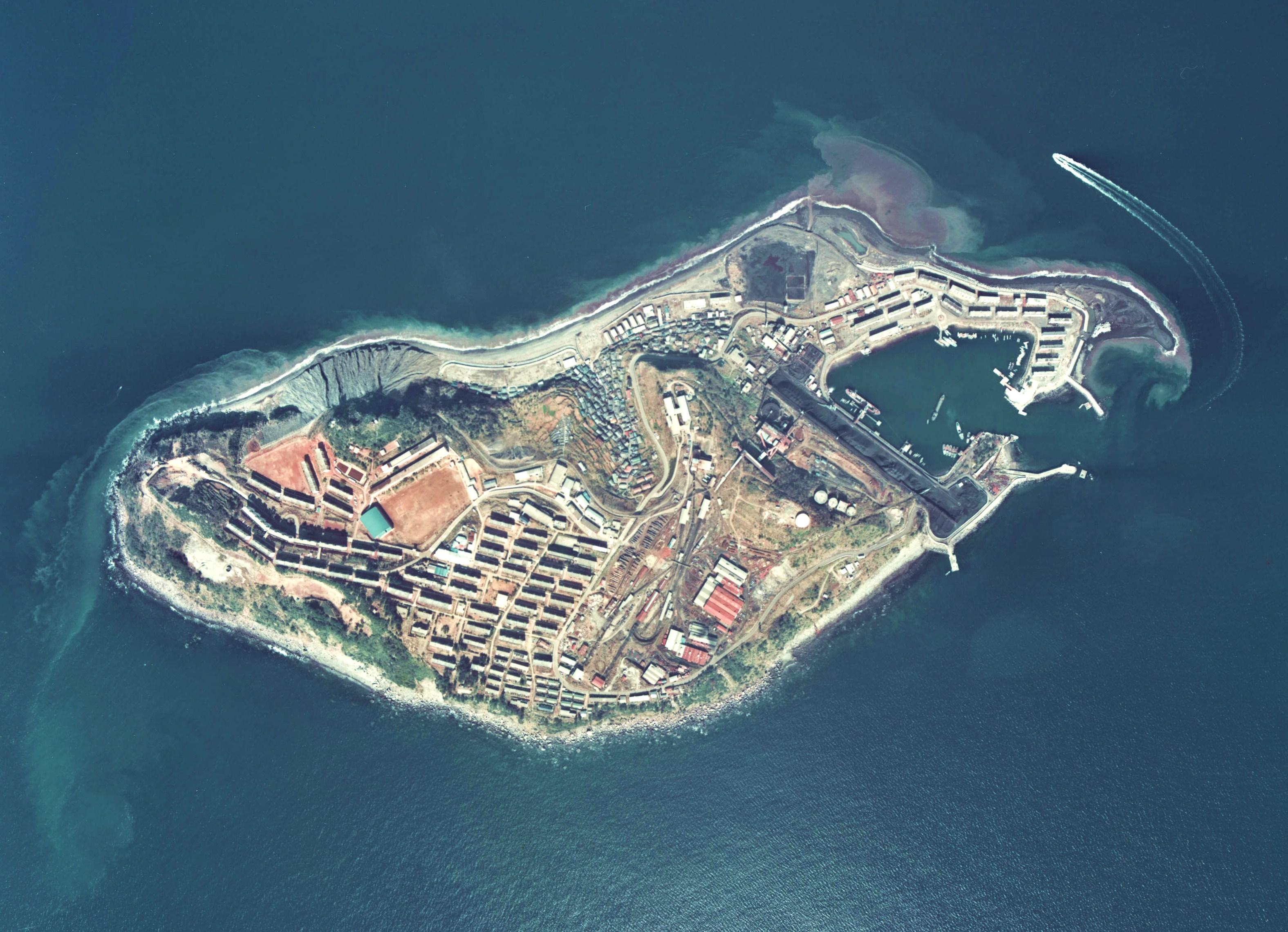 「池島炭鉱」の画像検索結果