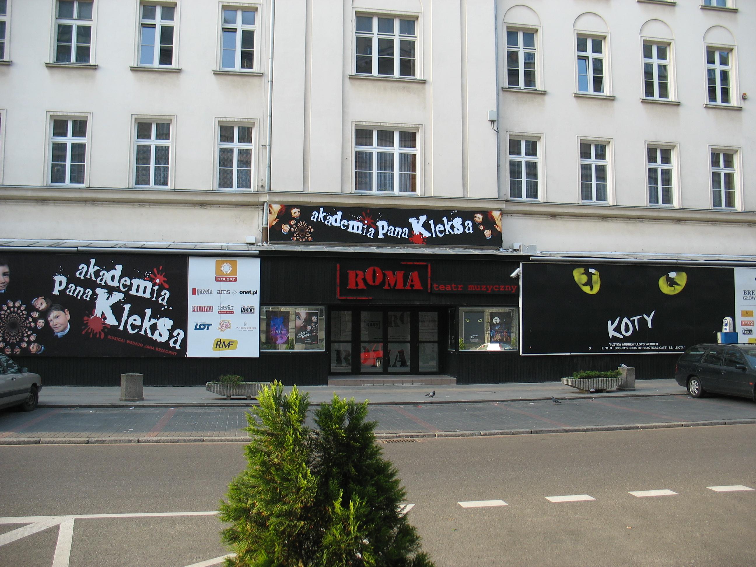 """Teatr Muzyczny """"Roma"""""""