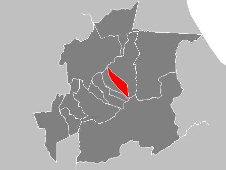 Ubicación Municipio Independencia