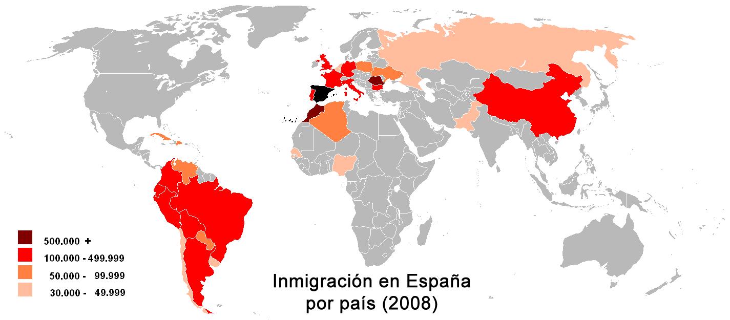 스페인으로의 이민 - Wikiwand