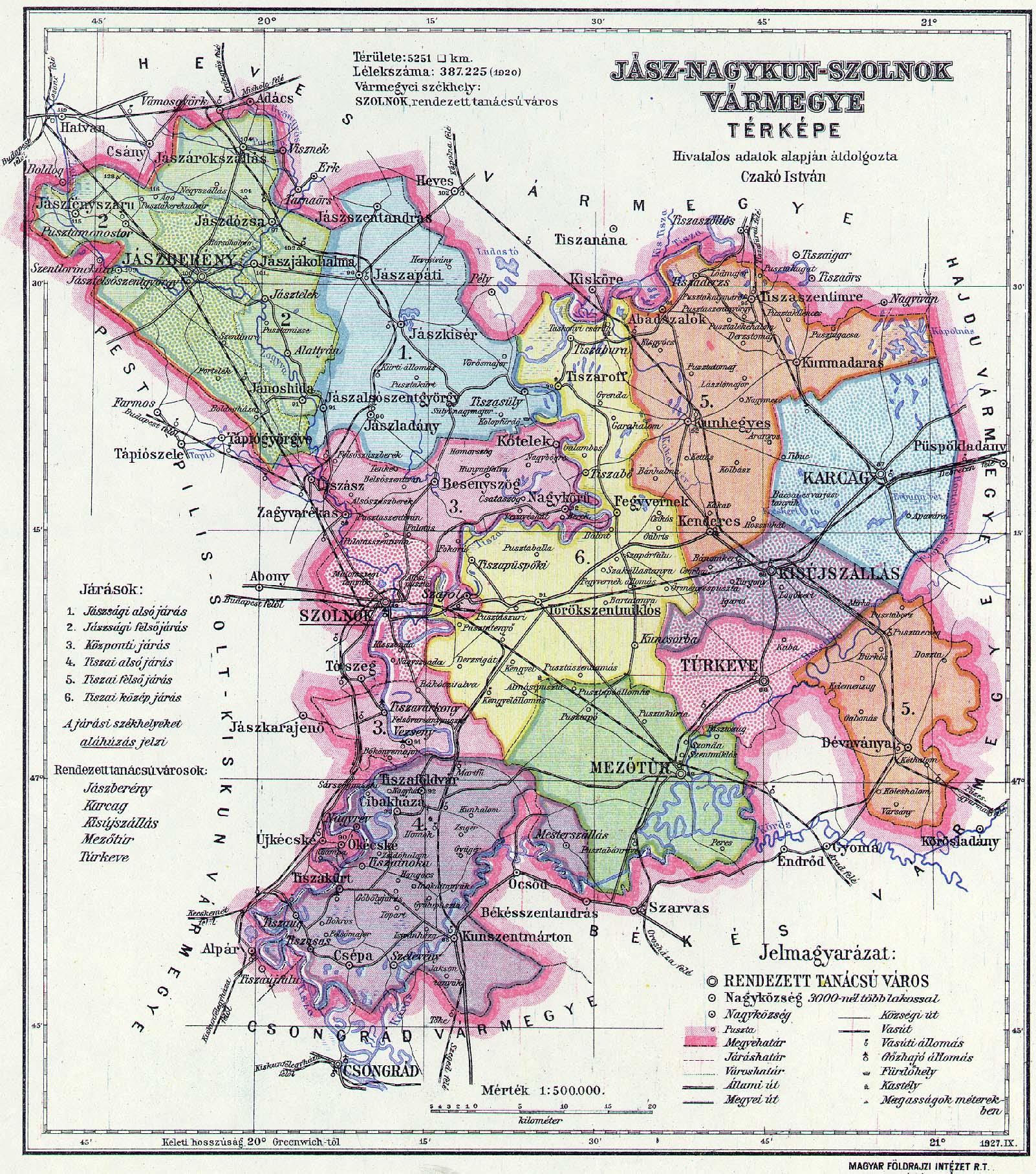 jász nagykun szolnok megye térkép File:Jász Nagykun Szolnok county administrative map.  jász nagykun szolnok megye térkép