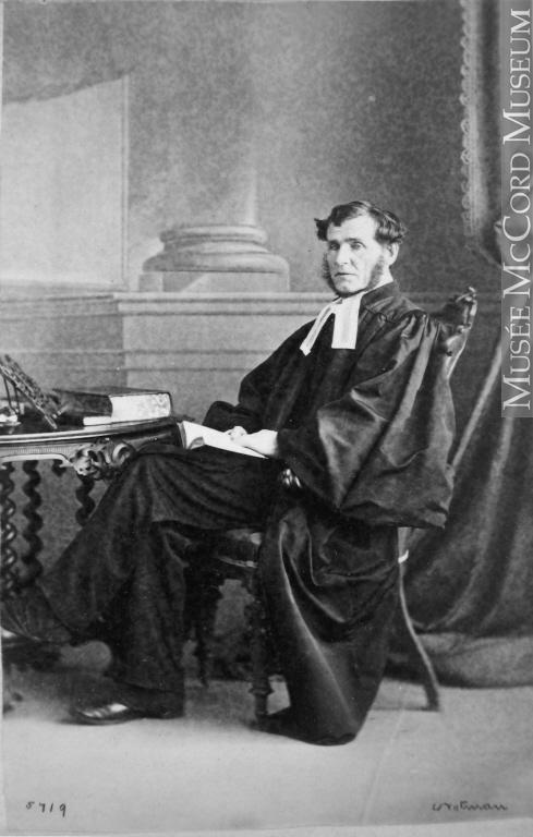 James Caughey, Montreal, 1863