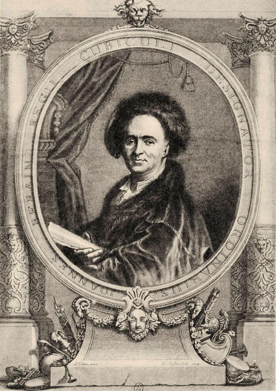 Portrait of [[Jean Bérain the Elder