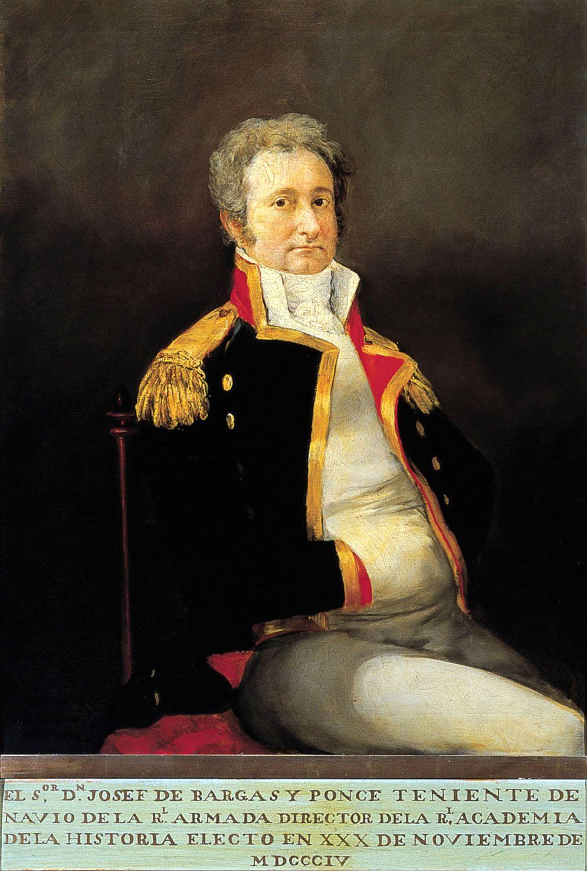 José de Vargas Ponce by Goya, 1805