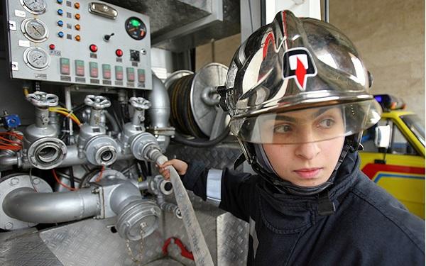 Fire department sex discrimination lawsuit