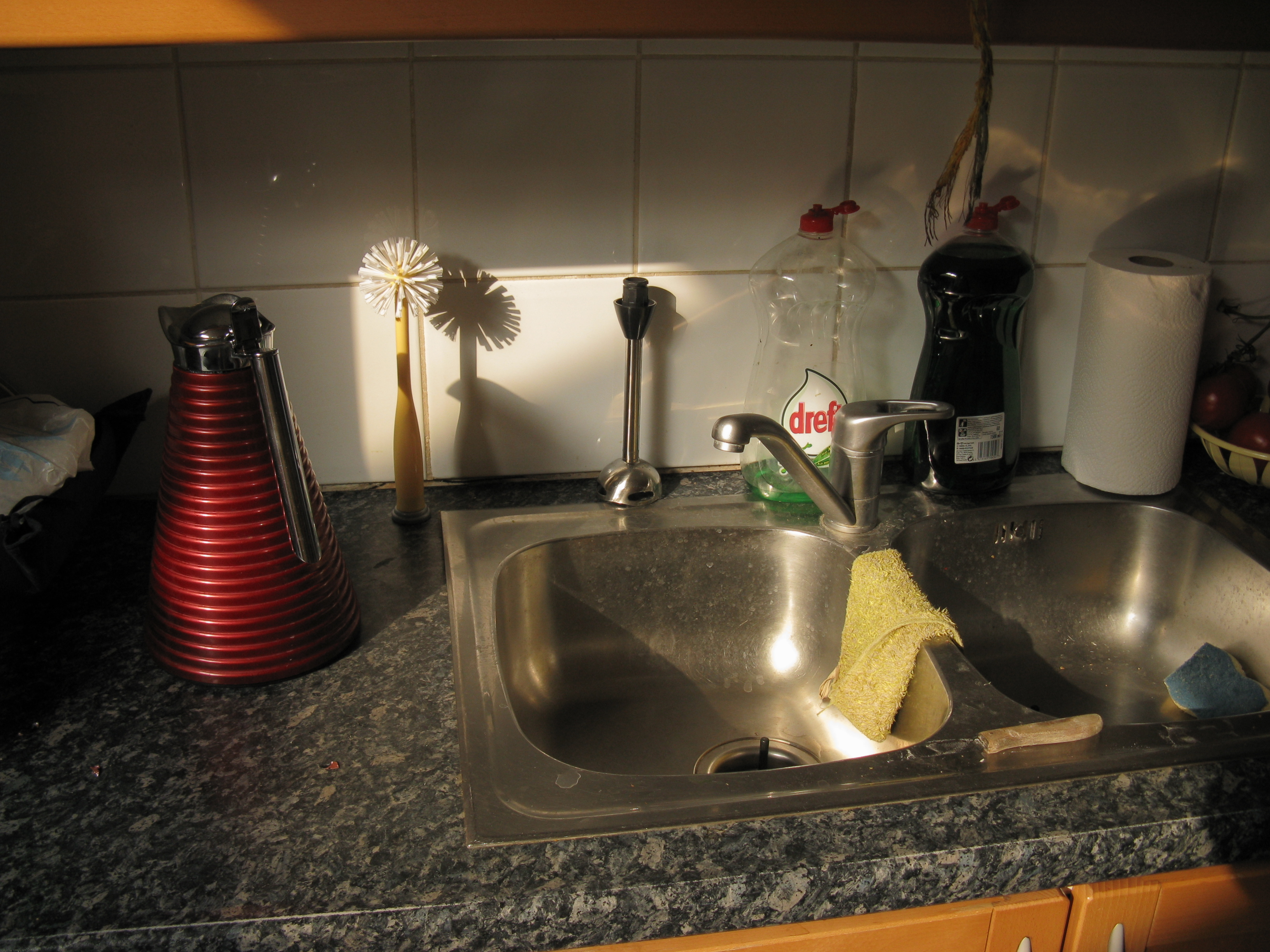 Sink Kitchen Only Glued With Silicone Granite Complaint