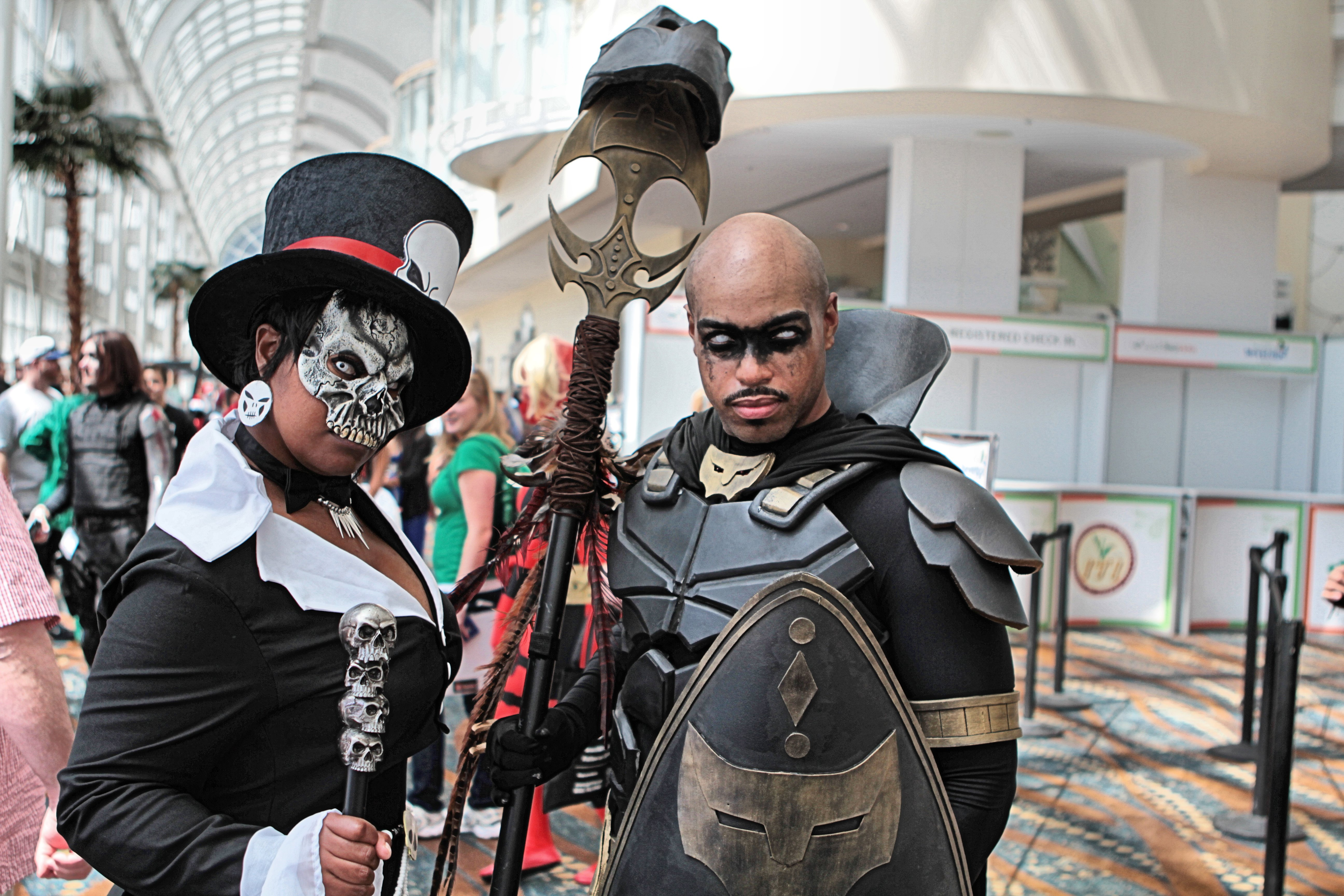 File:LBCE 2014 - Doctor Facilier and Black Panther