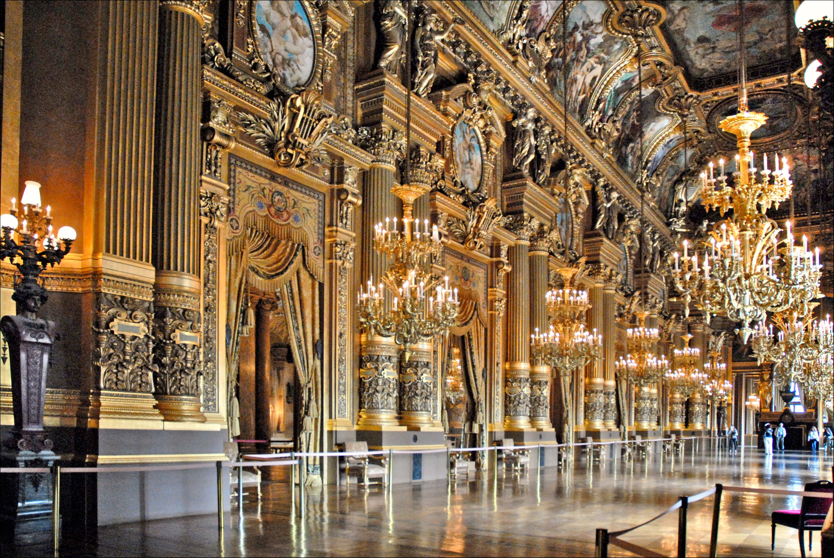 Le Grand Foyer Opera Garnier : File le grand foyer de l op�ra garnier paris g