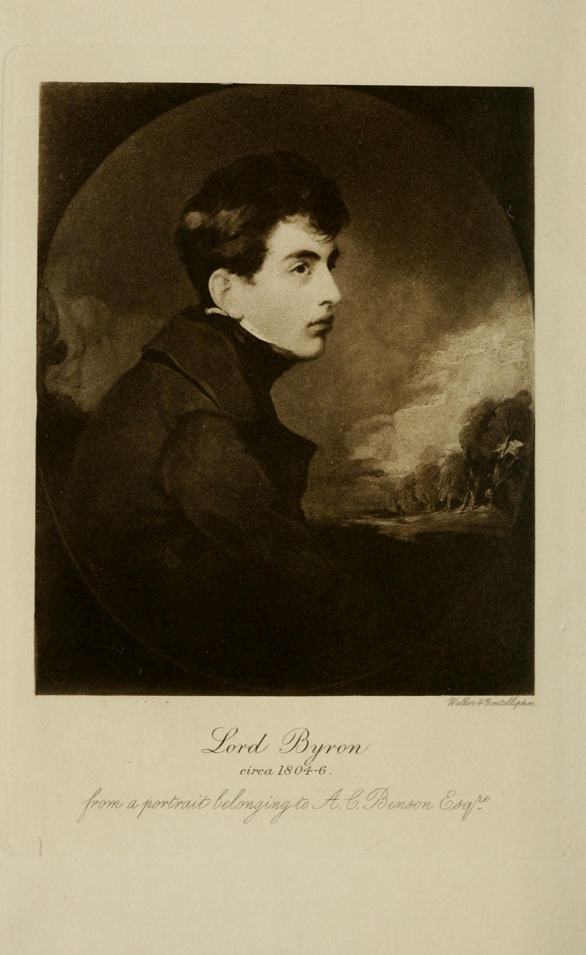 lord byron and his literature Includes seven volumes of byron's complete poetry edited by ernest harley coleridge, the british literary scholar, poet and grandson of samuel taylor coleridge, and six volumes of byron's complete letters and journals edited by rowland e prothero, 1st baron ernle, the british agricultural expert, administrator, journalist,.