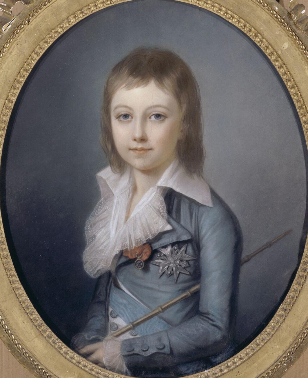 Depiction of Luis XVII de Francia