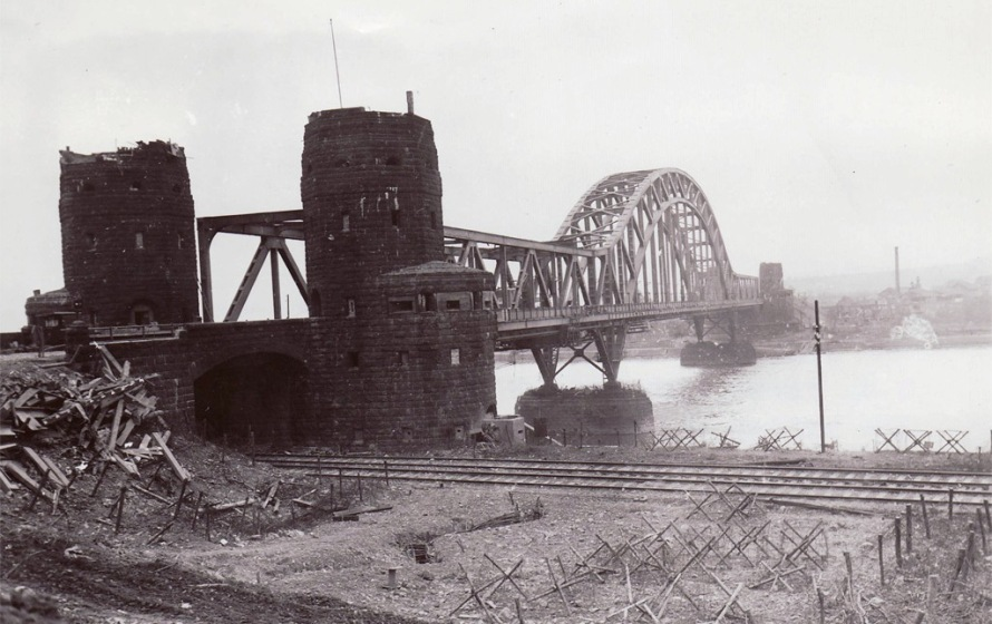 A view of the Ludendorff Bridge