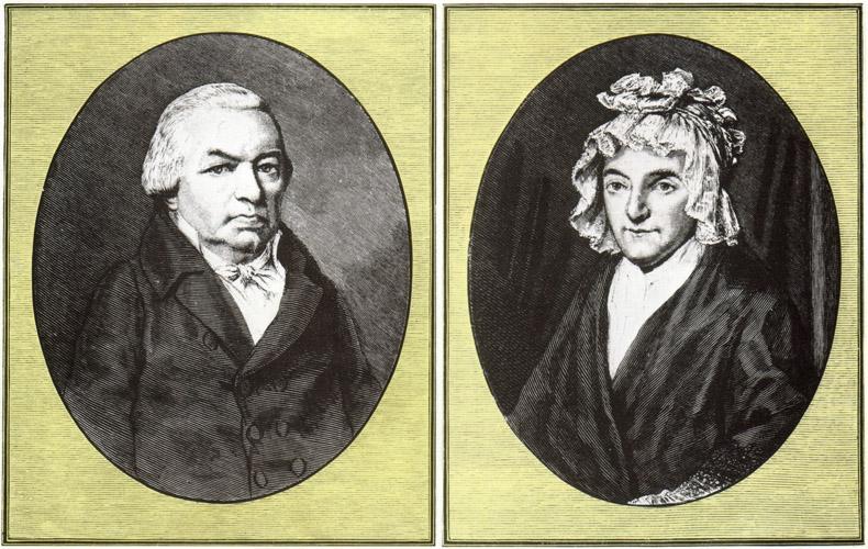 Johann van Beethoven (1740-1792) y Maria Magdalena Keverich (1746-1787), padres de Ludwig.