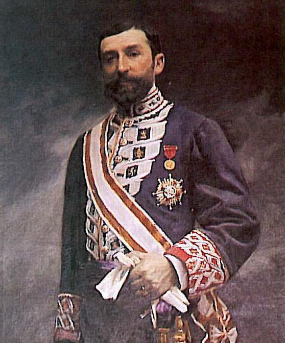 Depiction of Manuel de Burgos y Mazo