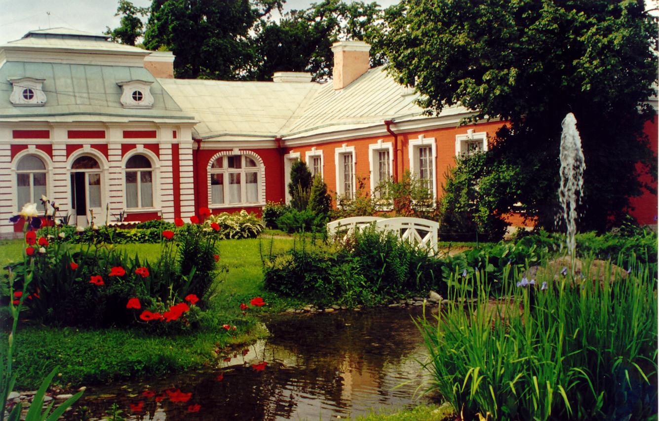 Filemagic Sankt Petersburg Sommer Palast Peterhof Garten Mit
