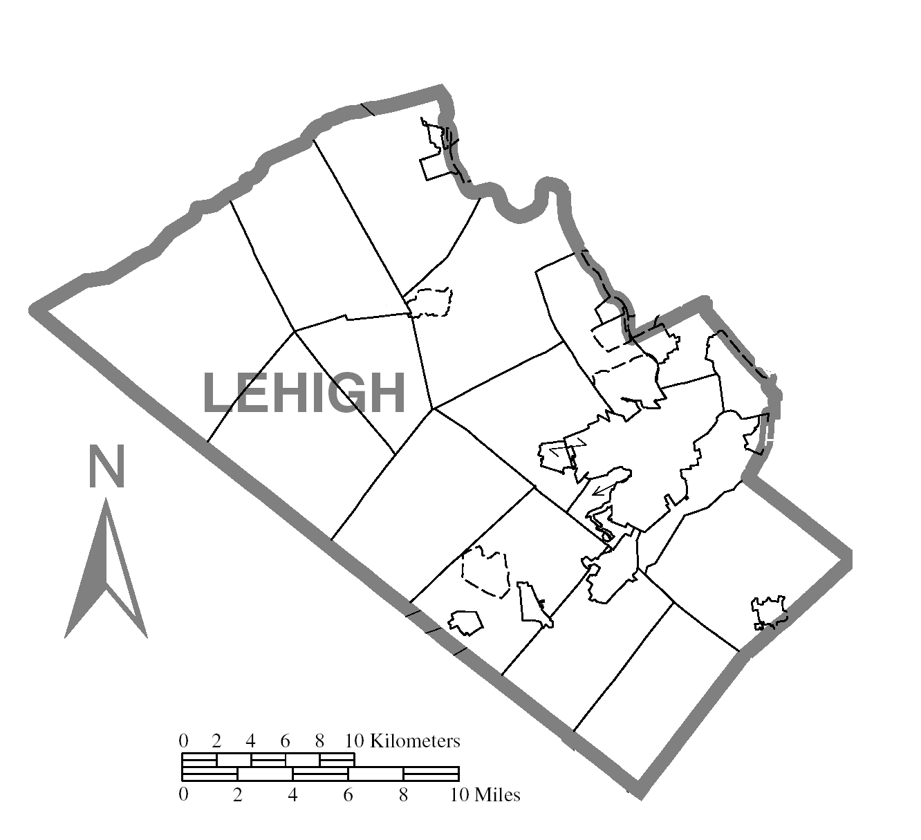 Map of Lehigh County pa File:map of Lehigh County