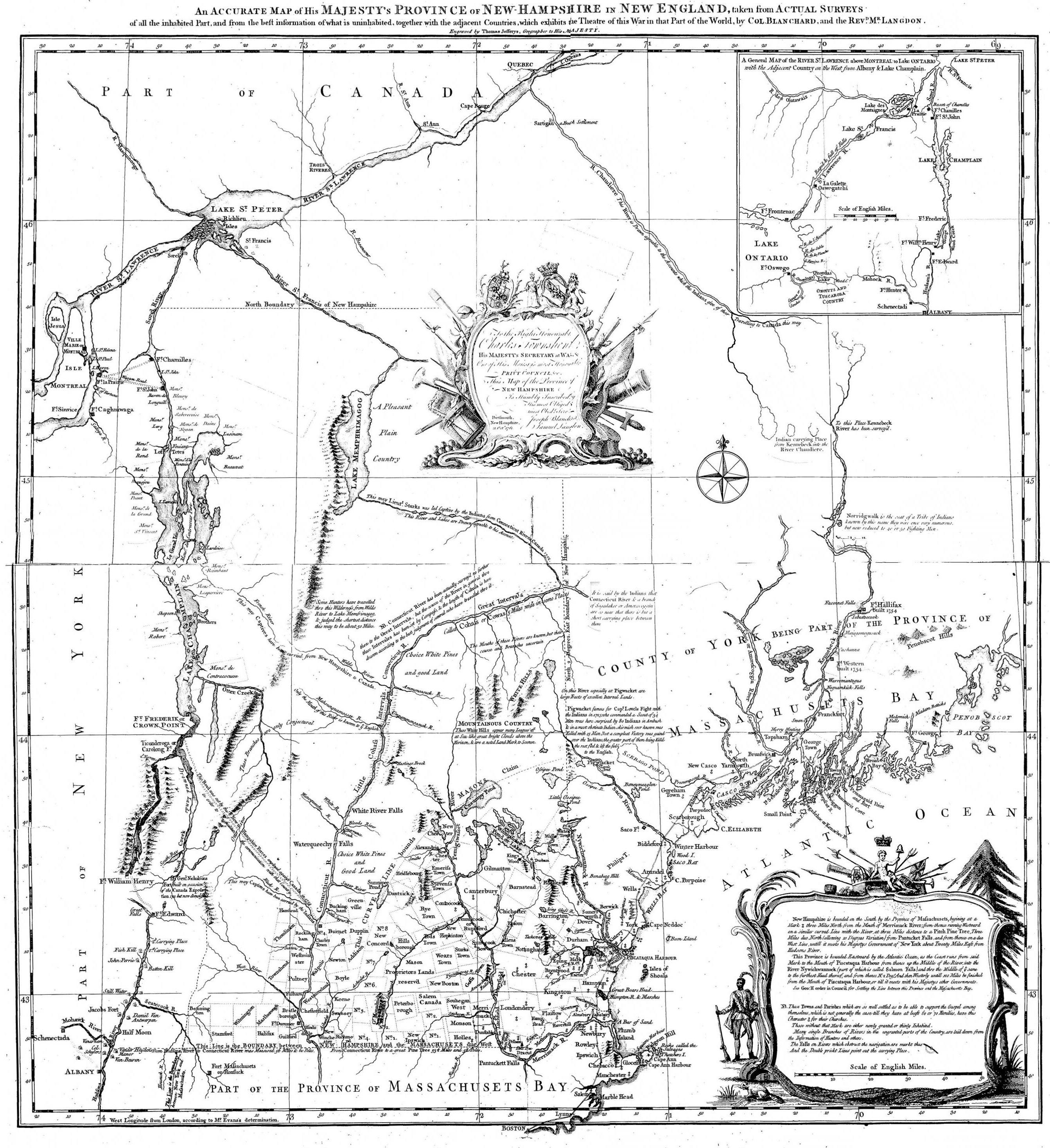 File:Map of New Hampshire, Blanchard Langdon, 1761.jpg