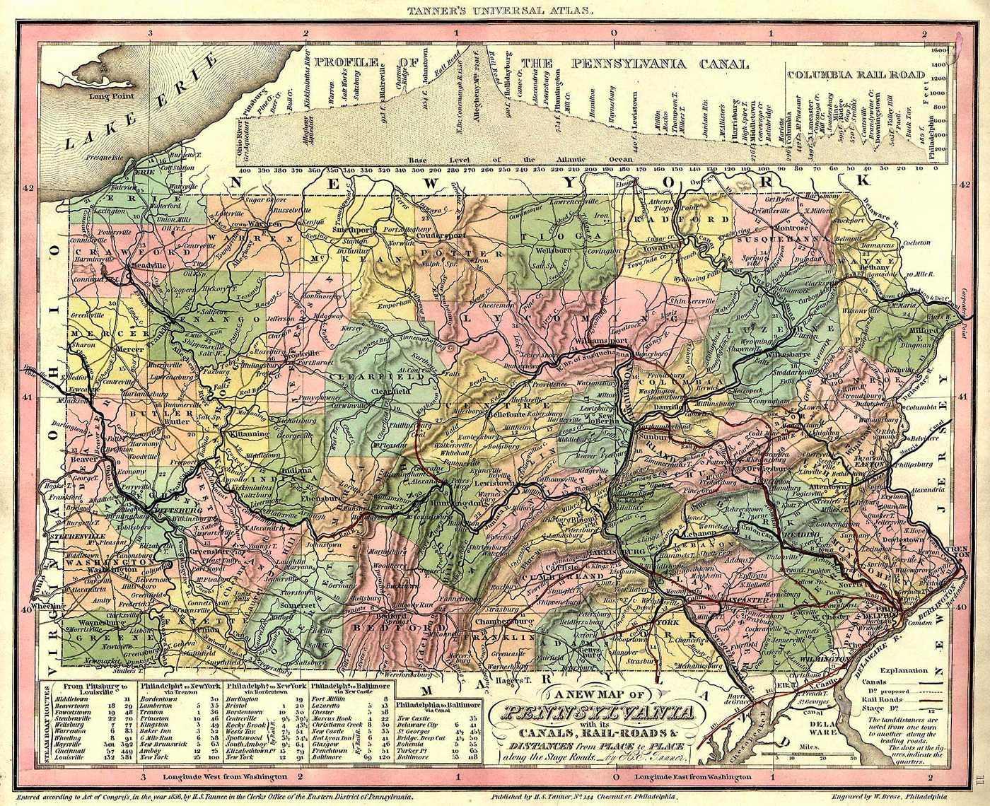 file map of pennsylvania counties in 1836 jpg