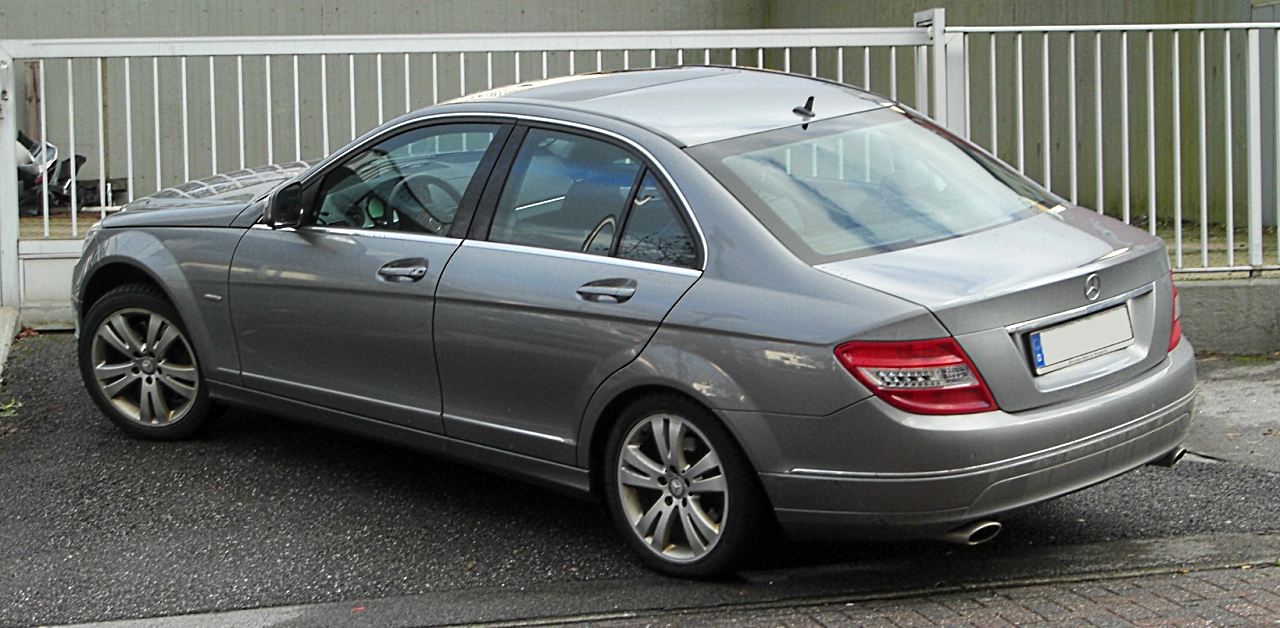 Mercedes C Coupe Towbar