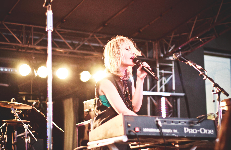 Metric performing live