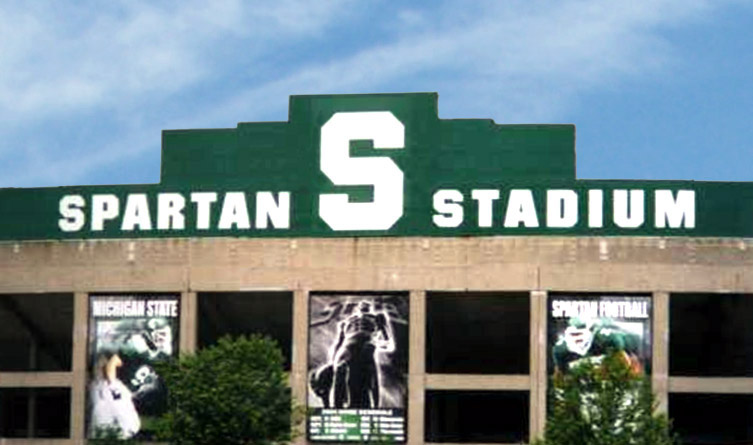 Michigan State Spartans Birthday Caked