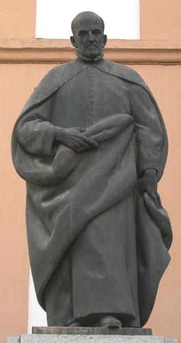Monumento a Luis de Góngora en la Plaza de la Trinidad, Córdoba