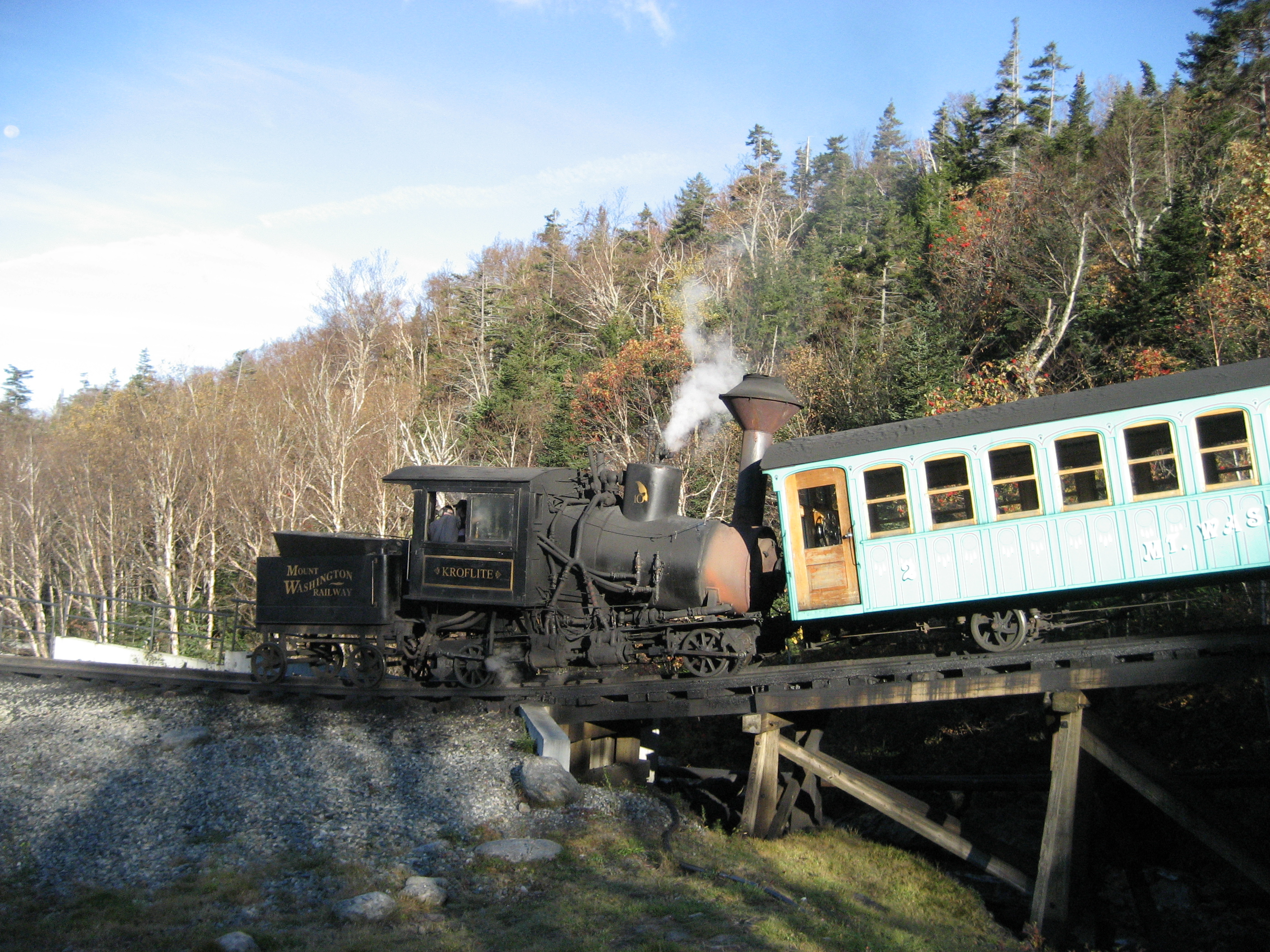 File Mount Washington Cog Railway Start Jpg Wikimedia
