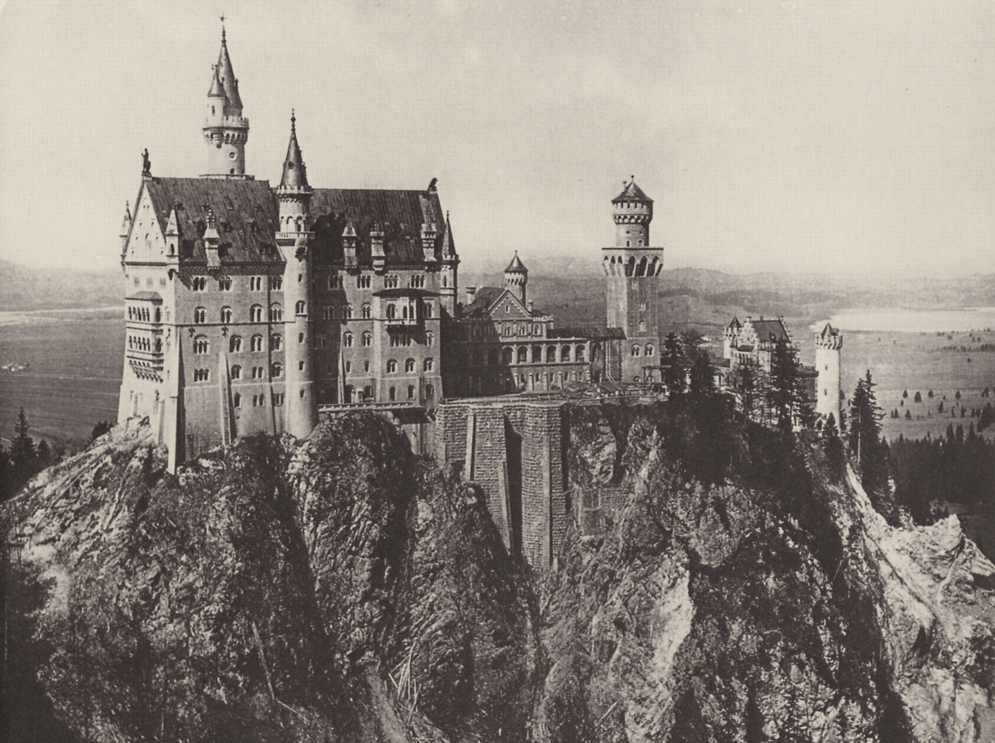 File:Neuschwanstein U2013 Schloss Nach Vorläufiger Einrichtung Für Den  Publikumsbesuch