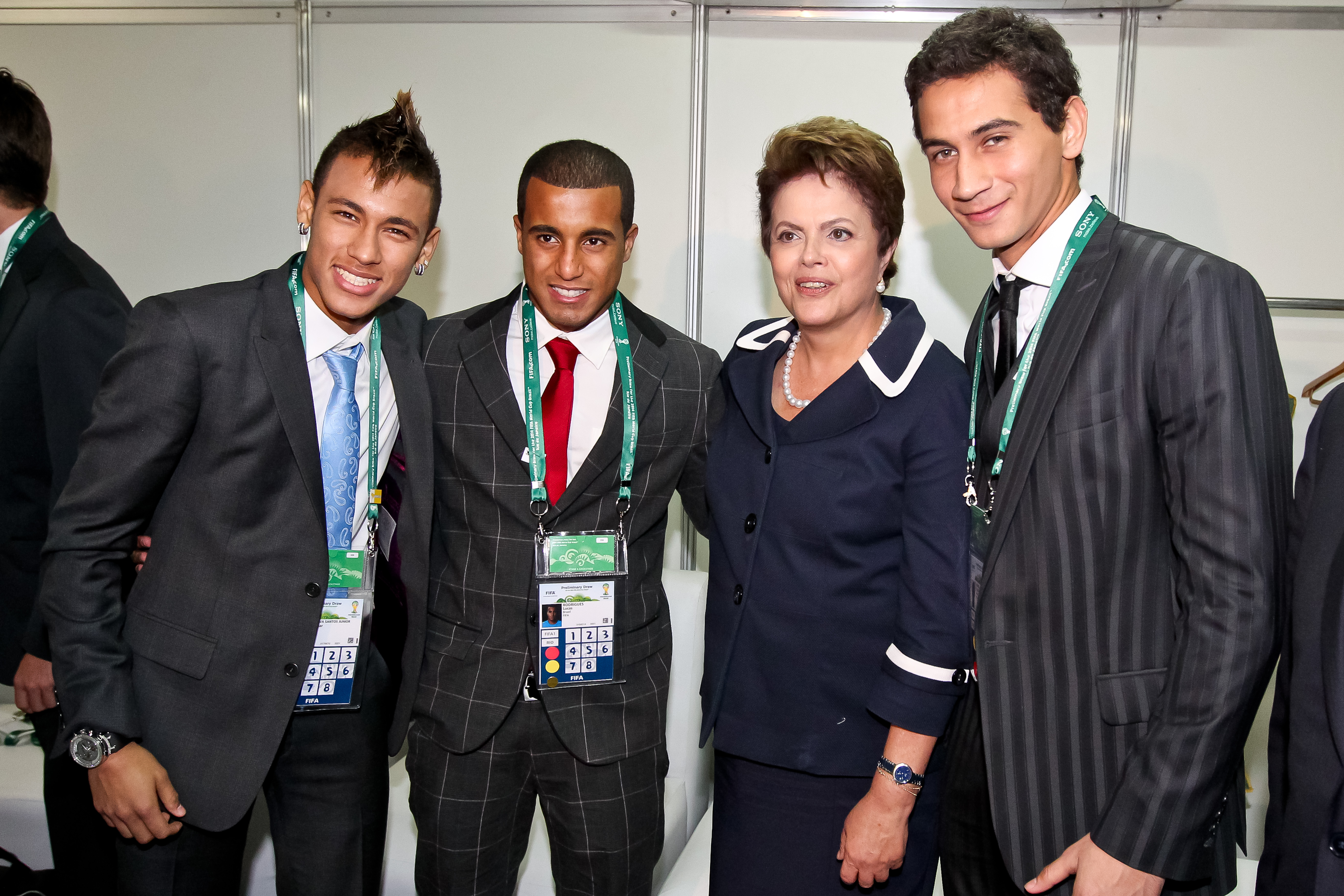 Neymar Lucas Moura