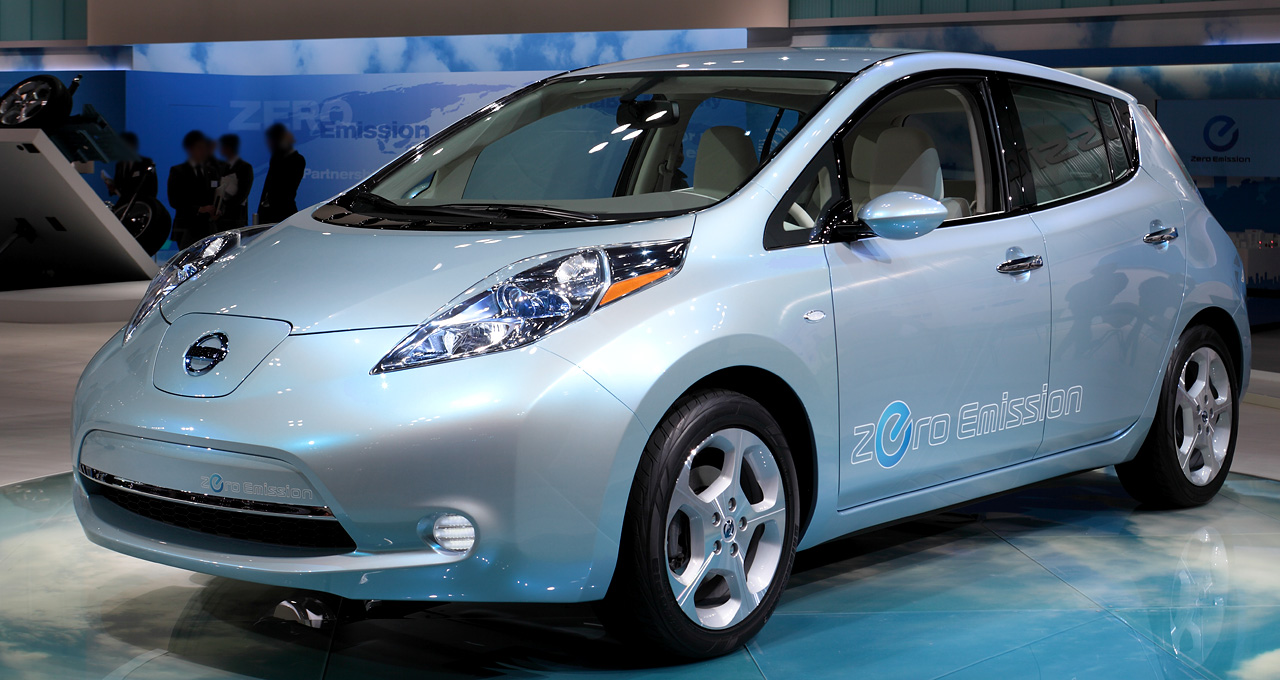 electric cars nissan leaf amazing wallpapers. Black Bedroom Furniture Sets. Home Design Ideas
