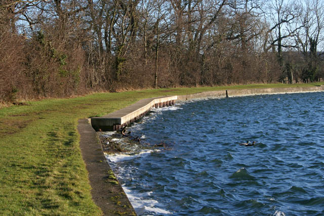 Northern shore, Denton Reservoir - geograph.org.uk - 1128985