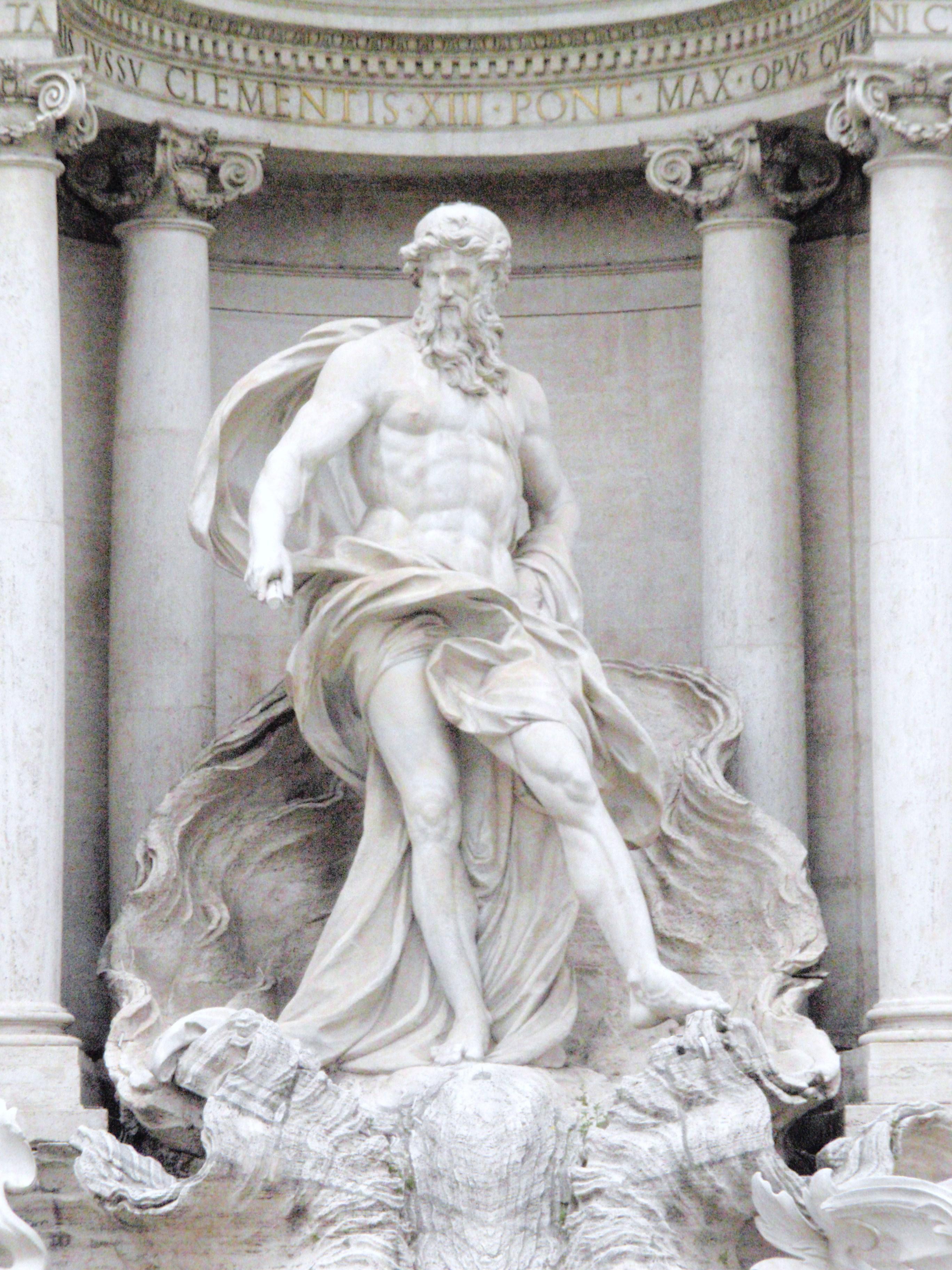 Ancient Gaia Statue oceanus - wikipedia