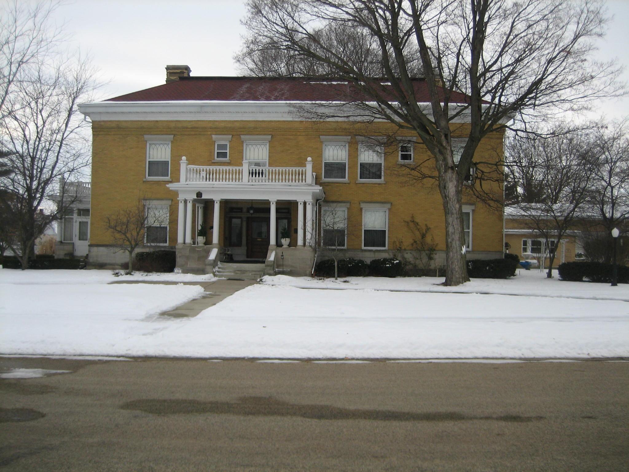 Illinois ogle county polo - File Ogle County Polo Il B And L Barber House4 Jpg