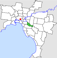 Local government area in Victoria, Australia
