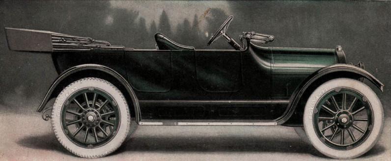 Overland automobile