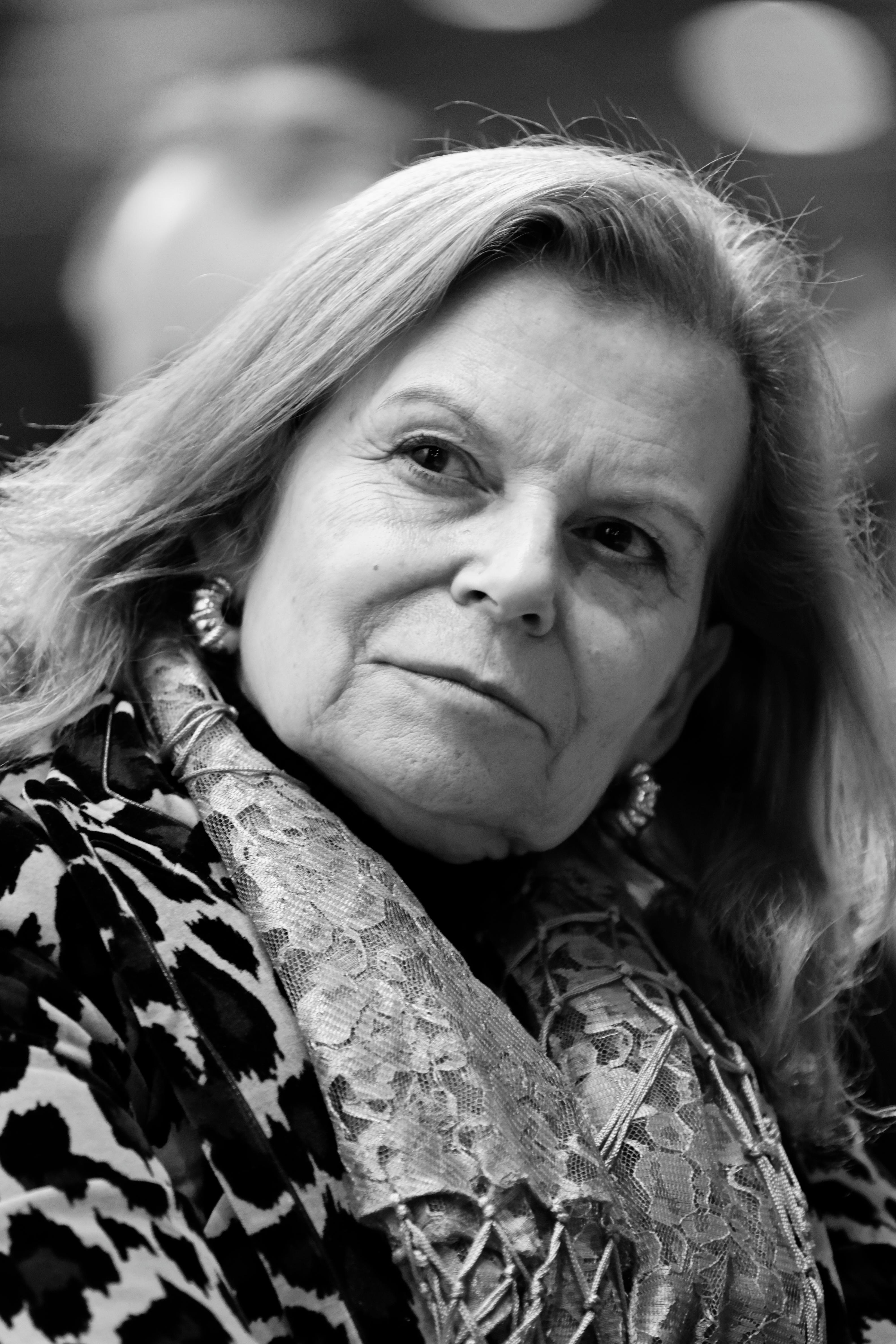 Carme Riera in Paris, 2013