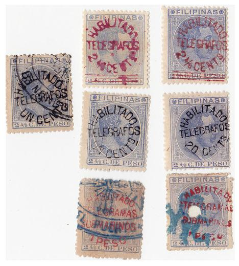 File:Philippines telegraph stamps 1880s.jpg