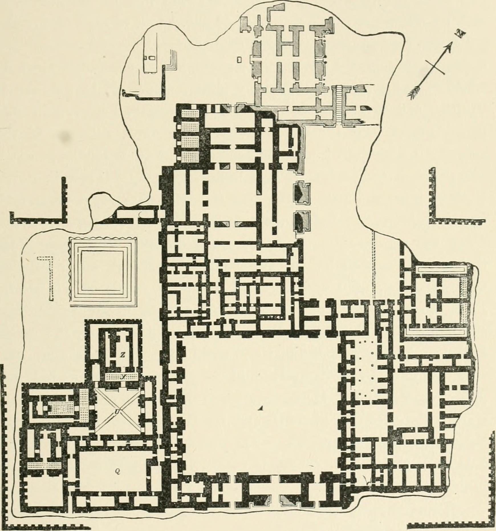Dur sharrukin wiki everipedia for Palace plan