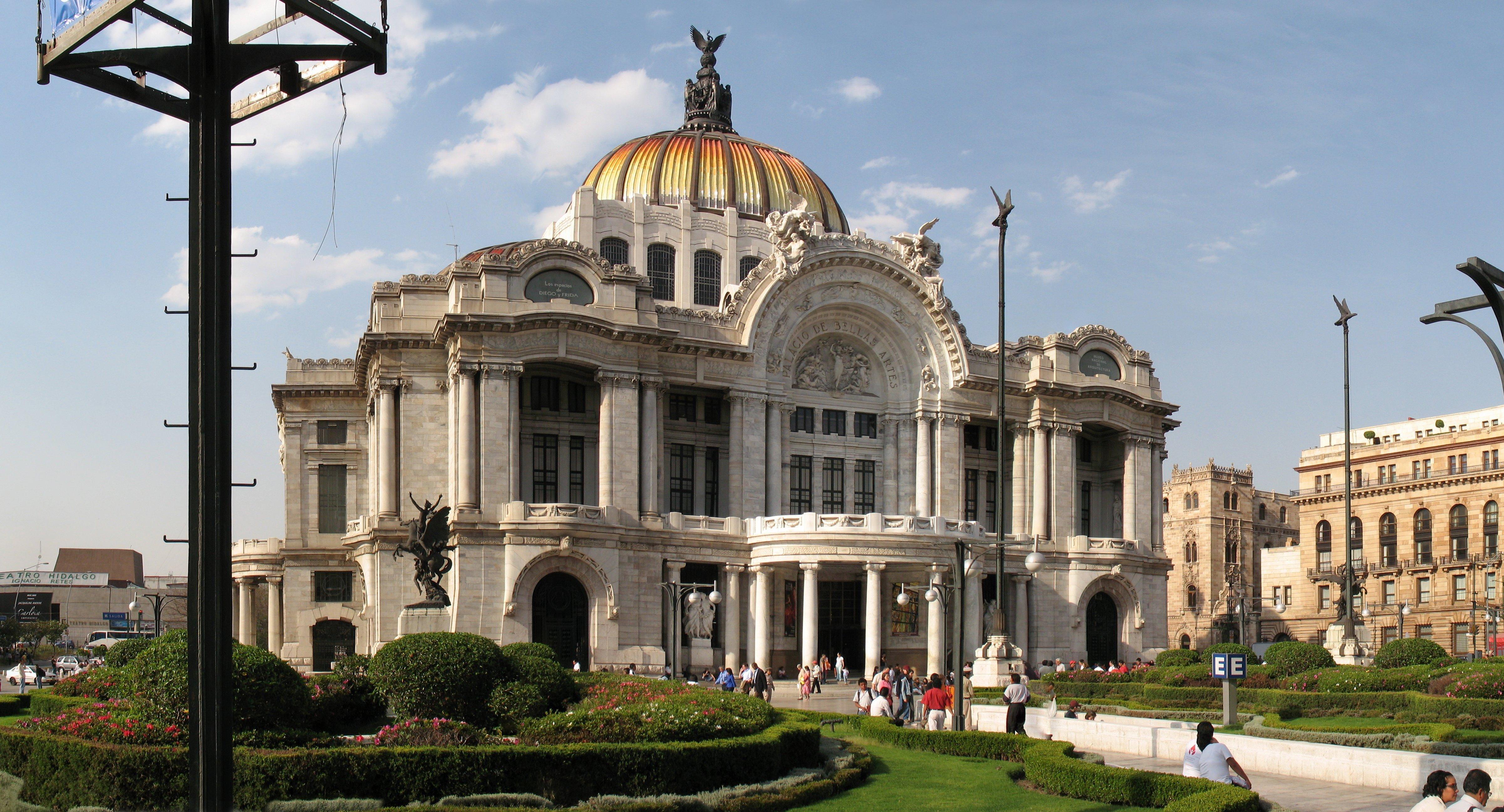File Plaza Bellas Artes Mexico City Jpg Wikimedia Commons