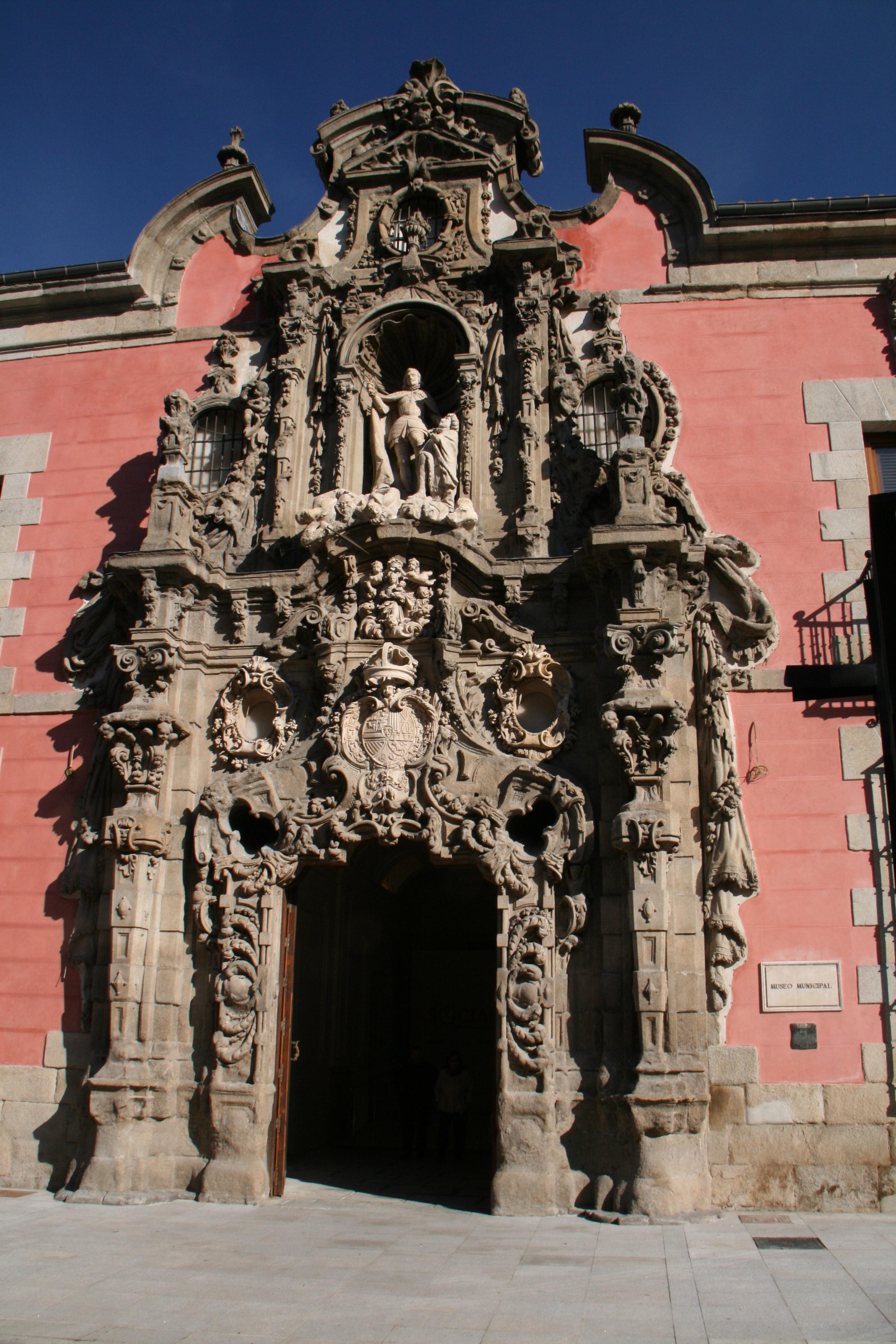 Description Portal Barroco Del Museo De Historia De Madrid