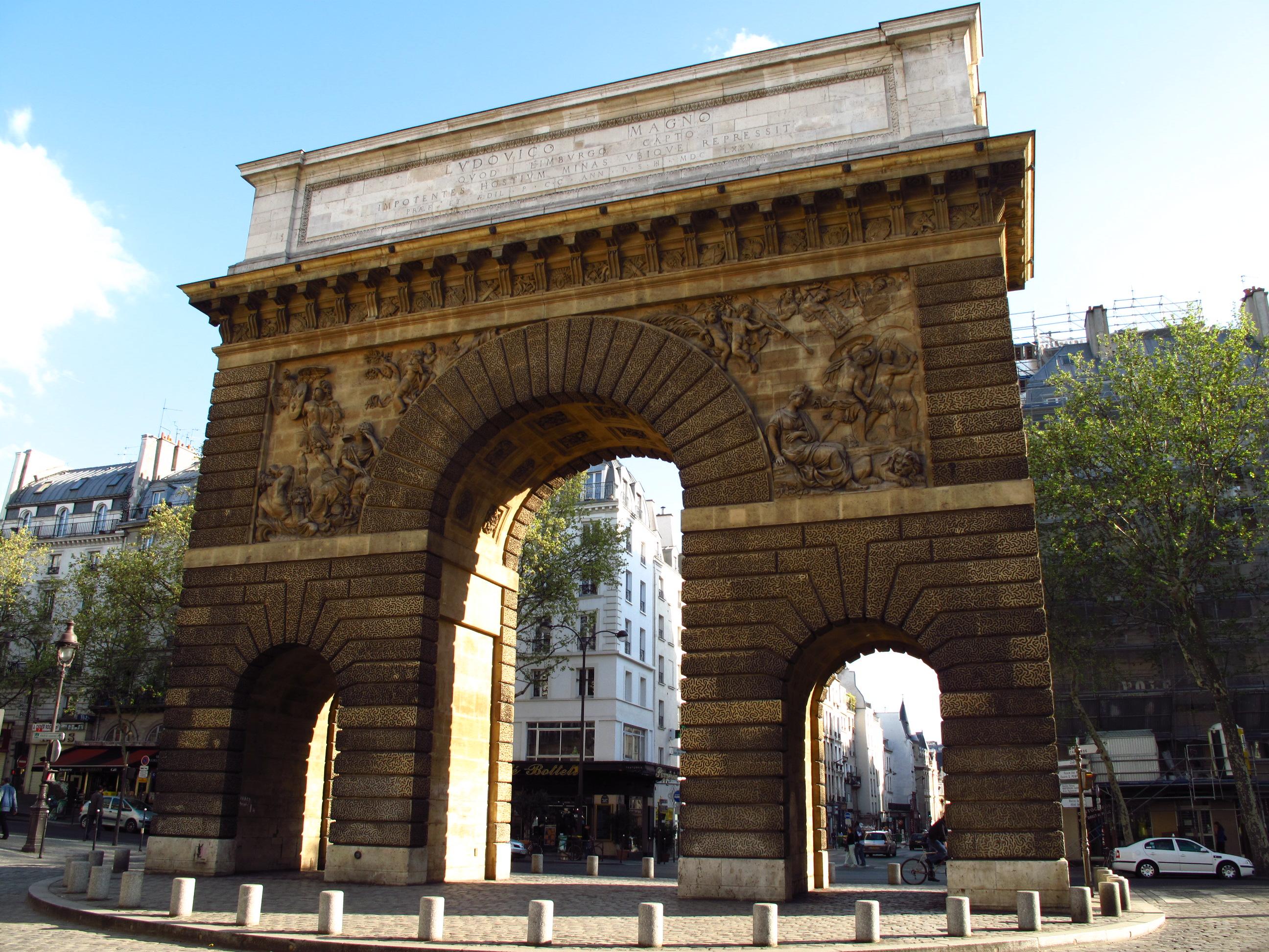 Porte saint martin - Petit theatre de la porte saint martin ...